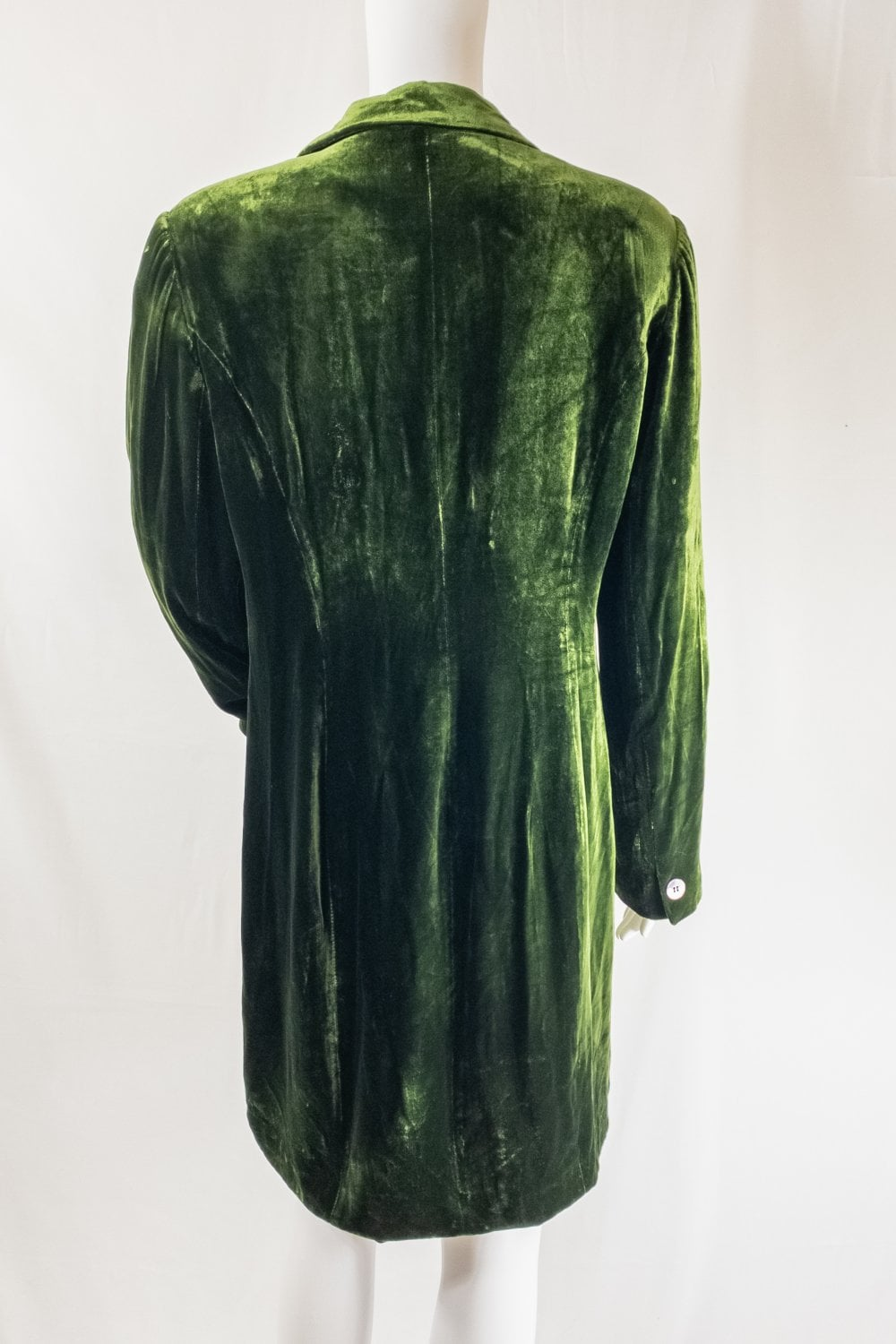 Vintage Style Vintage Green Velvet Coat Vintage From Daisy Chain Project Teesside Uk